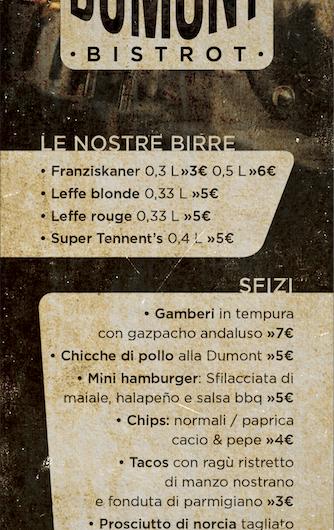 Dumont Bistrot – Cassia
